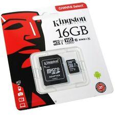 Kingston Memory Card 16GB MICRO SD UHS-1 CLASS 10 Scheda Memoria Micro SD HC