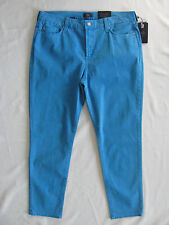 NYDJ Not Your Daughter's Jeans Alisha Ankle-Brilliant Blue -Size 14 NWT $110