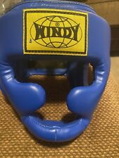 Combat sports Windy Blue boxing head gear regular hand crafted in thailand