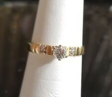 $700 Love Song 14k Yellow gold 1/4 .25ct Solitaire Diamond Engagement ring FR