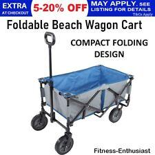 Foldable Garden Wagon Beach Market Trolley Sport Outdoor Cart Hiking Sport