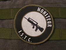 "snake patch - ECUSSON ROND "" MONITEUR ISTC "" famas FELIN tir BTB instructeur FR"