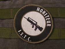 "snake patch - ECUSSON ROND "" MONITEUR ISTC "" famas FELIN tir BTB instructeur FR"