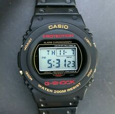 Rare CASIO G-Shock DW-5700C-9V (901) 2nd Generation Round - New Battery
