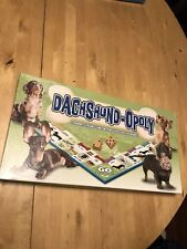 Dachshund-opoly board Game + Vintage Aggravation 1977 Complete Dog lovers Gift