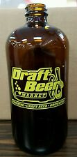 20 Glass Growler Bottles (32oz Boston Round) - Brand New with Pre-Printed Logo