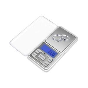 Mini Digital Scale 500g x 0.01g High Accuracy Electric Pocket Jewelery Kitchen