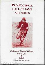 RARE FULL 30 CARDS SET~SERIES ONE GOAL LINE ART CARDS~SOLD OUT~SAME SERIAL #