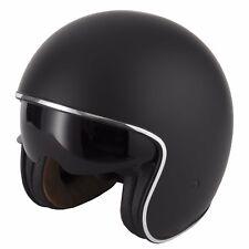 VCAN V537 Open Face Motorbike Scooter Motorcycle Helmet Road Legal Sun Visor