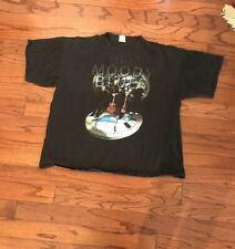 Cygnus The Moody Blues Strange Times 90'S Tour T Shirt Black Concert Rock 2Xl