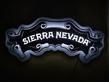 SIERRA NEVADA LED BAR SIGN MAN CAVE LIGHT WOOD AND STEEL