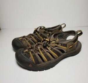 Keen Newport H2 Sandal Mens 9 Green Brown