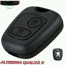 Copertura Chiave Guscio Cover Key Peugeot 106 206 307 406 Tasti Telecomando key