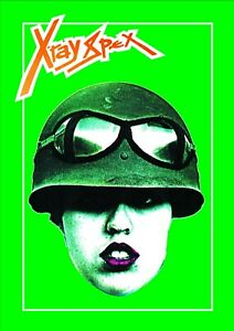 X-RAY SPEX - A4 ART PRINT - PUNK - POLY STYRENE - Day the world turned Dayglo