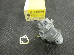 KEM NORS Fuel Pump 9762 1952 Buick Roadmaster Double Action 5592610 Made in USA