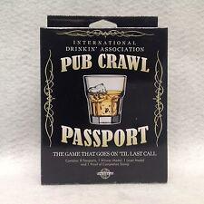 Pub Crawl Passport Adult Drink Game Birthday Gag Gift Guys Game Night Prize Fun