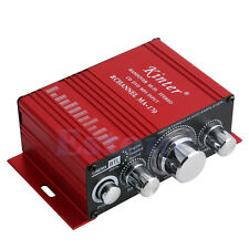 2 Channel 12V Hi-Fi Audio Stereo Power Amplifier For Mp3 mp4 Car Radio