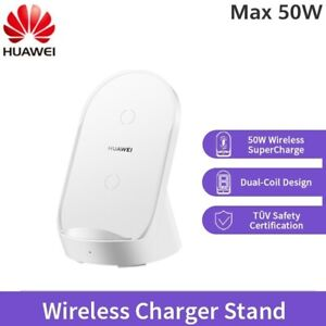 Huawei Wireless Charger Qi Fast Quick Charging Stand 50W For Mate P 20 30 40 Pro