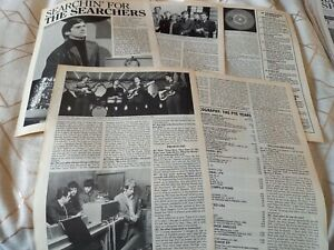 The Searchers / Chris Curtis 1998 interview article / photos / discography