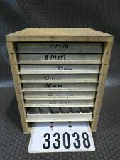Buchstaben Sortiment Kunststoff und Blei im Schubladenschrank #33038