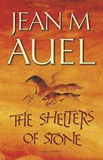 Auel, Jean M., The Shelters of Stone (Earth's Children), Like New, Hardcover