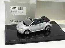 Auto Art 1/43 - VW  Beetle Cabriolet Silver