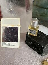 PACO RABANNE PARIS PARFUMS CALANDRE PARFUM Miniature VINTAGE