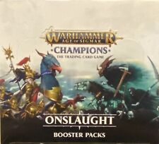 Warhammer Champions | Onslaught | Trading Card Game | Booster Display
