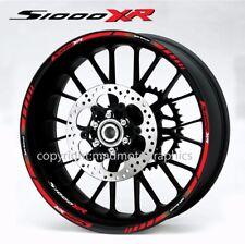 S1000XR motorcycle wheel decals stickers bmw motorrad rim stripes s1000 XR Red