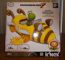 Mario Kart 7 K'Nex Yoshi with Bumble Bee Cart – Brand New