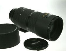 Nikon Nikkor AF 2,8/80-200 D ED #778782 Drehzoom guter Zustand m. Geli.