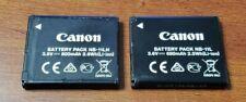 2 Genuine Original Canon NB-11L Batteries for IXUS125 IXUS132 IXUS140 CB-2LFE -2