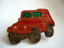 PINS JEEP ROUGE 4X4 AUTO VOITURE