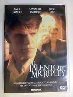 DVD  Il Talento di Mr. Ripley ( DVD ) Matt Damon - Gwyneth Paltrow