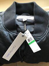 Calvin Klein Jeans Men's Aviator Bomber Puffer Jacket, Large, Model: 41F2528