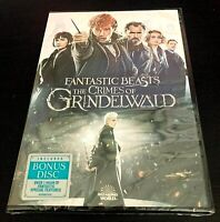 Fantastic Beasts: The Crimes of Grindelwald DVD (Brand New / Free Shipping)