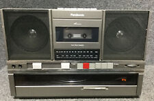 Vintage Panasonic Boombox Model No. SG-J500 Record And Cassette Player