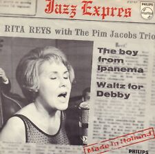 "RITA REIJS & PIM JACOBS TRIO – The Boy From Ipanema (1965 SINGLE 7"" DUTCH PS)"