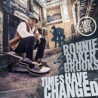 RONNIE BAKER BROOKS - TIMES HAVE CHANGED (180 GR.LP+MP3)   VINYL LP + MP3 NEU