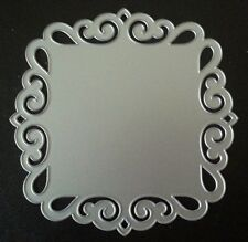 Sizzix Die Cutter DECORATIVE SQUARE Thinlits fits BIGkick Big Shot Cuttlebug