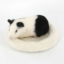 1Pc Cute Round Warm Pet Velvet Sleep Mat Bed Cushion Nest for Hamster Mice Rats