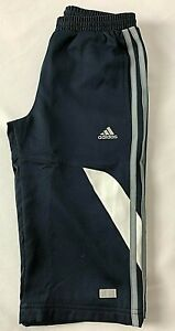 Junior ADIDAS 3 Stripes Clima Cool Lined 3/4 Pant/Long Shorts Ages 9-14 Years