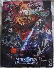 Blizzcon 2015 Heroes of the Storm Signed Mini Card