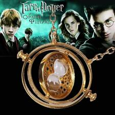 Silver Hermione Granger Time Traveler Necklace + FREE Bronze Deathly Hallows