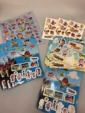 Jake and the Neverland Pirates sticker and tattoo lot Disney Peter Pan Returns