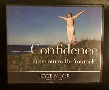 JOYCE MEYER 4 CD SET~CONFIDENCE: FREEDOM TO BE YOURSELF~AUDIOBOOK