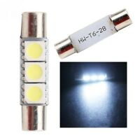 31mm LED Festoon Light Bulb White Car Interior Roof Globe Glove Dome Fuse Style