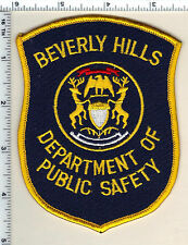 Beverly Hills Dept. of Public Safety (Michigan)  Shoulder Patch  - new from 1991