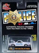 Racing Champions Police USA Salt Lake City UT '86 Chevy El Camino New 1999