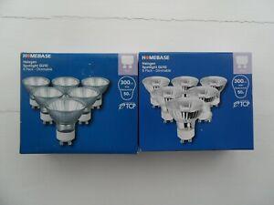 HOMEBASE 2 X 6 Pack(12 In Total) DIMMABLE WARM WHITE HALOGEN GU10 SPOTLIGHTS 40W
